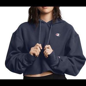 Women's Champion Cropped Hoodie